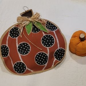 None Holiday - FALL 🧡 Hanging & Sitting Pumpkin Decorations
